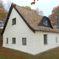 Cedar shingles roofing solution for listed highland cottage