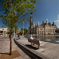 Bailey provide high quality furniture for Bradford City Centre scheme