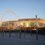 Locker cable mesh cladding for Wembley Stadium