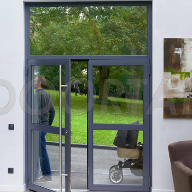 New DOORTAL glazed steel door range