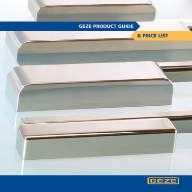 GEZE UK publishes updated product guide
