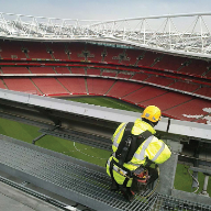 Latchways Fall Protection for Emirates stadium