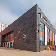 AlUK facade for Cardiff High School