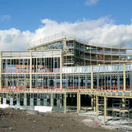 Versatile facade for Hexham Hospital