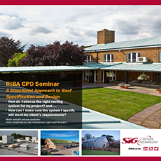 Watch SIG Design & Technology's roof design CPD online