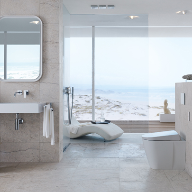 Geberit AquaClean Sela shower toilet now floorstanding