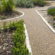 Paving for primary school sensory garden