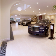 Heating system for Rolls-Royce showroom, Essex