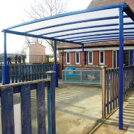Bespoke canopy for John Harrison Primary School