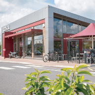 Comar curtain walling chosen for Costa Coffee drive-thru