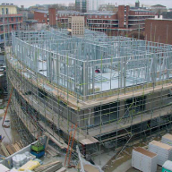 Load bearing structural system for mixed use development
