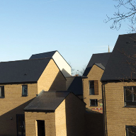 Cembrit Zeeland fibre cement slates for Keepmoat Homes