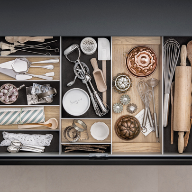 Award-winning personalised kitchen storage from SieMatic