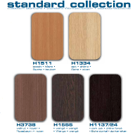 Changes to Parthos standard colour collection 2014