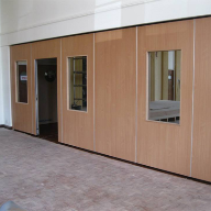 Parthos movable walls at Methodist Church