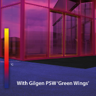 Gilgen entry system with added energy-efficiency