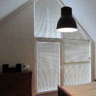 Venetian Blinds for complex windows