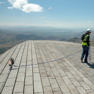 Latchways ManSafe® ideal for Snowdon summit building