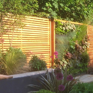 Western Red Cedar and Ipe Hardwood for garden refurbishment