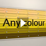 The colour of symphony by The Safety Letterbox Company