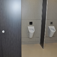 Office washrooms for Design Plus Packaging