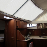 Grand Design Blinds selected for luxury cruiser