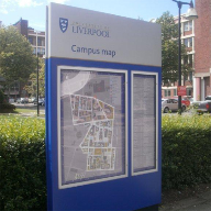 Poster cases for University of Liverpool