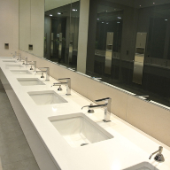 Maxwood Washrooms make smart work of city office makeover