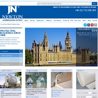 Newton Waterproofing launches their new website