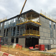 Total framing solution for Turing College student accommodation