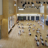 Junckers Floors used in the UK's first Passivhaus School