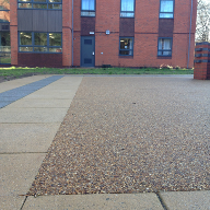 RonaDeck Resin Bound Surfacing at University of Birmingham