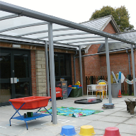Freestanding canopy for Kennet Valley Primary School