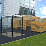 Cycle storage unit for Kingswell Business Park