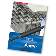 Ancon brochure updated to include new rebar couplers