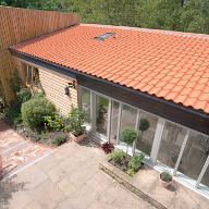 First UK project uses new Melodie clay interlocking tiles