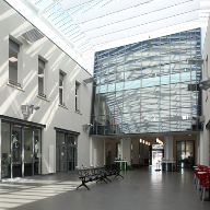 Reynaers aluminium systems at South Staffordshire College