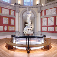Bespoke trench heating solution for Flaxman Gallery at UCL