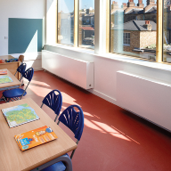 Oxygen heating & ventilation system for Stockwell Primary School