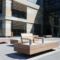 Standard and bespoke benches for Bath Spa University