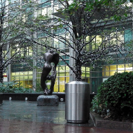 Street furniture for Canary Wharf