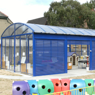Bespoke compound for St Peter's RC School, Essex