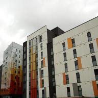 Weather louvres for University of Liverpool accommodation