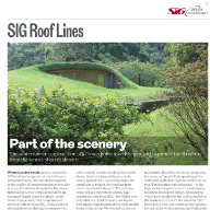 SIG Roof Lines – RIBA Journal September 2014