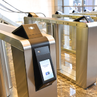 Security entrance system complements design at Heron Tower