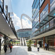 Glazing from GLASSOLUTIONS at London Designer Outlet