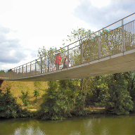 Architectural mesh for bridge balustrading in Maidstone