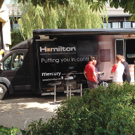 Hamilton Litestat's MDV takes to the road