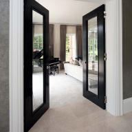 High performance timber doors for luxury property