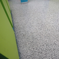 Acrigard FK flooring used at Cheney Academy